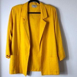 Yellow Vintage Blazer!